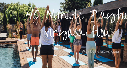 40 Minute Playful Vinyasa