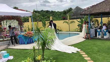 Wedding in Strutz Art Garden Resort