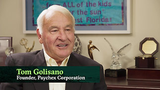 A Conversation with Tom Golisano (excerpt)