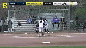 U of R vs. Ithaca Softball 4-17-2021