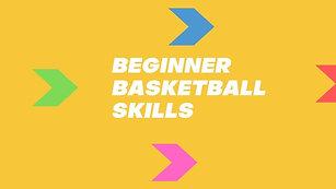 Beginner ball skills
