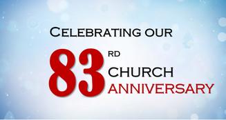 7/05/20 83rd Anniversary Service