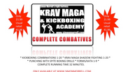 COMPLETE COMBATIVES. 4 VIDEOS IN ONE.