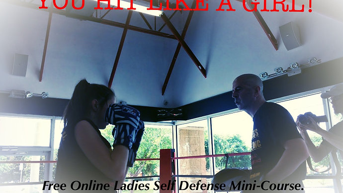 You Hit Like a Girl Ladies Self Defence
