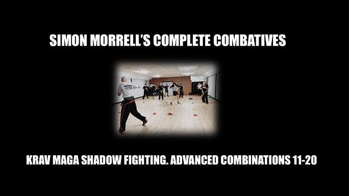 KRAV MAGA ADVANCE SHADOW FIGHTING COMBOS