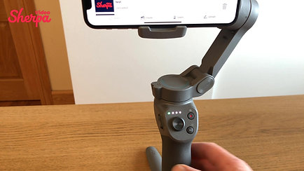 #1 Load Your Phone To The DJI OSMO Gimbal