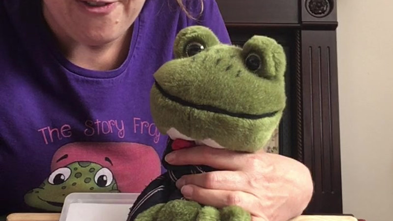 Day 59 Sound Ch The story Frog Phonics Online Preschool Classes