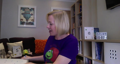 CLASS 5- T Sound The Story Frog Phonics Online Preschool with Quita
