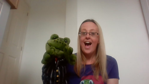 Baby The Story Frog Tiddlers Online Classes with Hannah - Essex