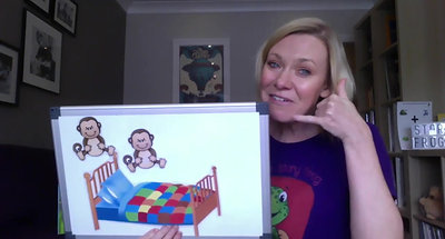 Day 21- O sound The Story Frog Phonics Online Preschool classes with Quita