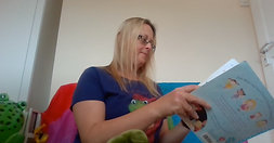 Week 9 F Sound The Story Frog Phonics Online Preschool classes with Hannah