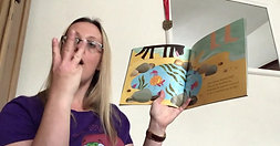 Week 7 Beach Adventure The Story Frog Phonics -Tiddlers Baby Classes Online with Hannah