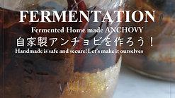 【オンデマンド】発酵レッスン*おうちで自家製アンチョビを作ろう!