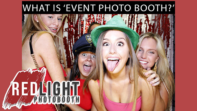 What is 'event photo' booth?