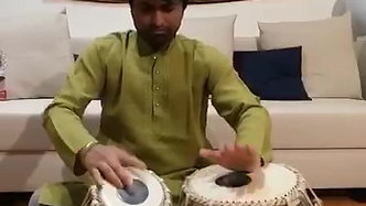 Manish Madankar assolo di tabla