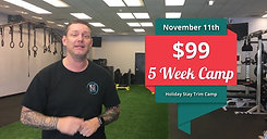 $99 Five-Week Holiday Camp