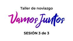 Sesión 3/3 - VAMOS JUNTOS