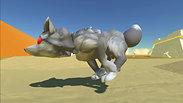 Four Legged Running Animation