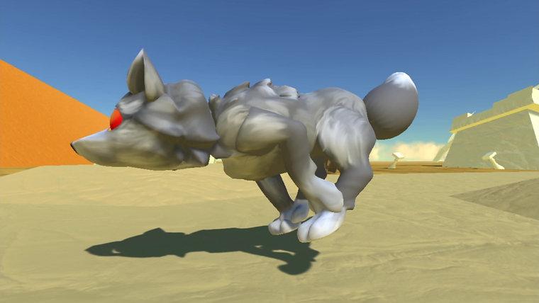 4 Legged Running Animation