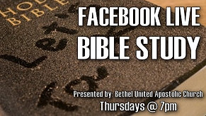 Bible Study - Lesson 1
