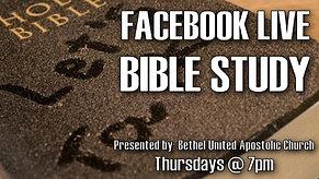 Bible Study - Lesson 11