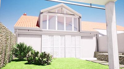 Course solaire maison de ville