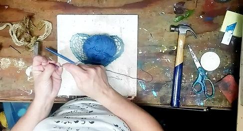 Not Your grandma string art by eileen a art