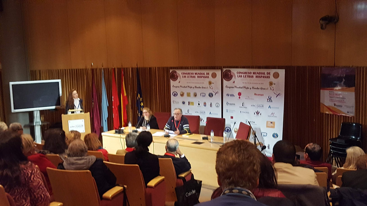 Ponencias. Salón de Grados de la Universidad Carlos III de Madrid