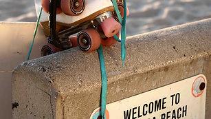 At Home w/Lisa: Social Distancing Rollerskate