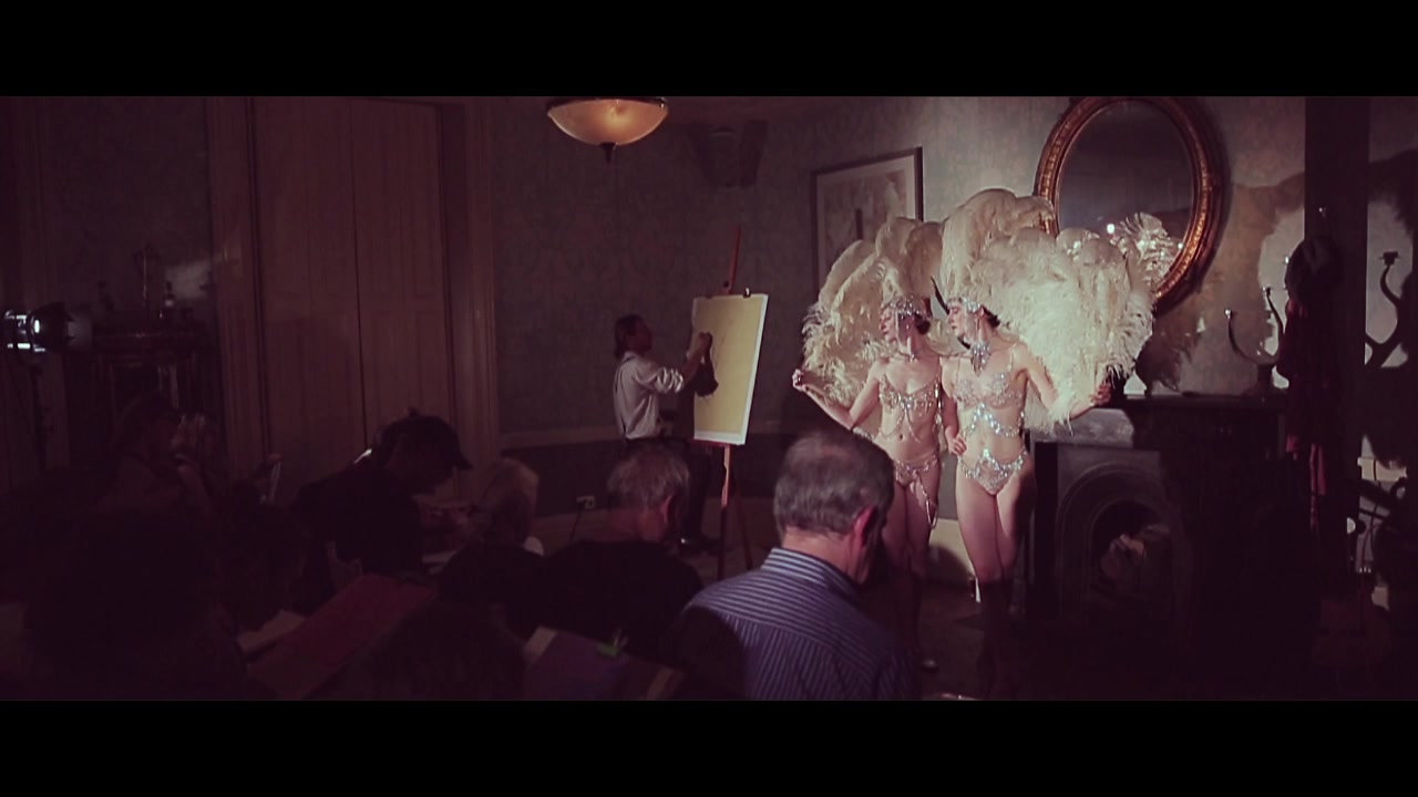 AN IMMERSIVE DRAWING EXPERIENCE AT THE KINGS HEAD