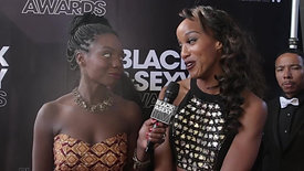 The BLACK&SEXY Awards [ Black Carpet Interviews]