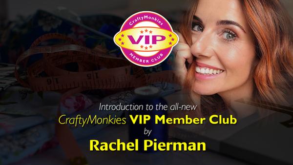 VIP Member Club Promo with Rachel Pierman