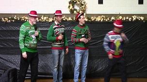 Quartet Visits ROLF Christmas Party