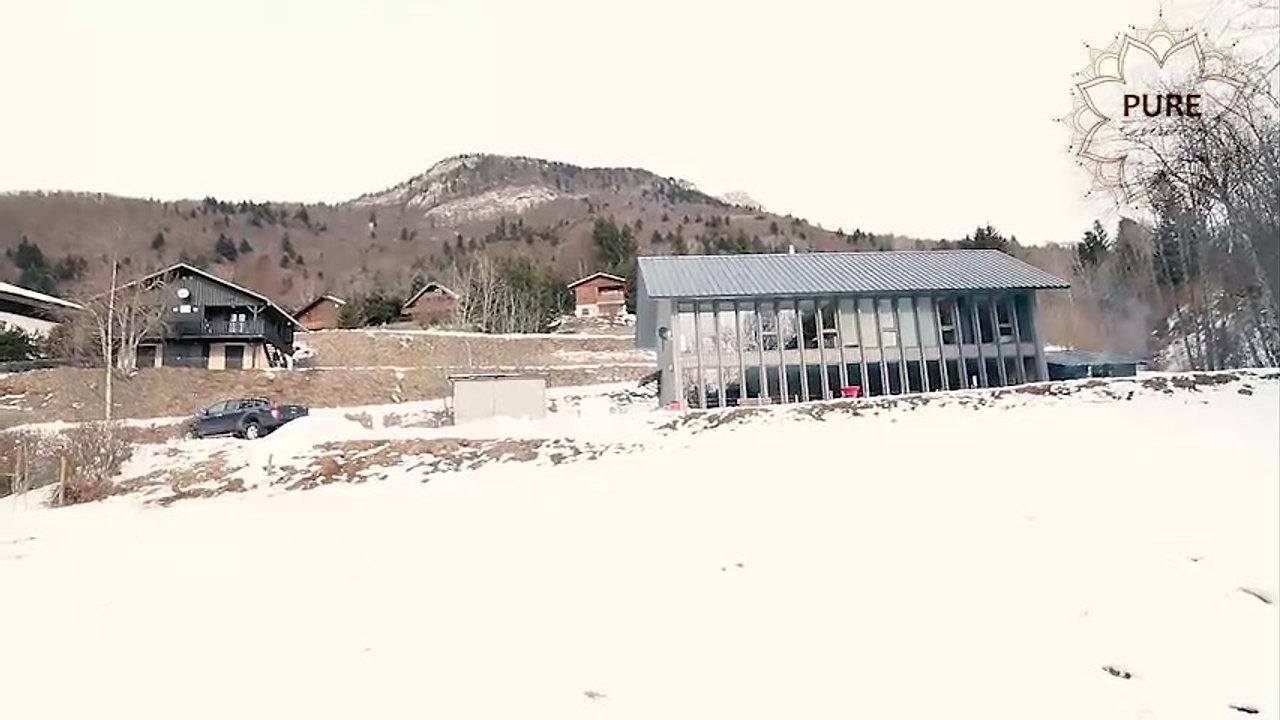 Yoga et Montagne l'hiver