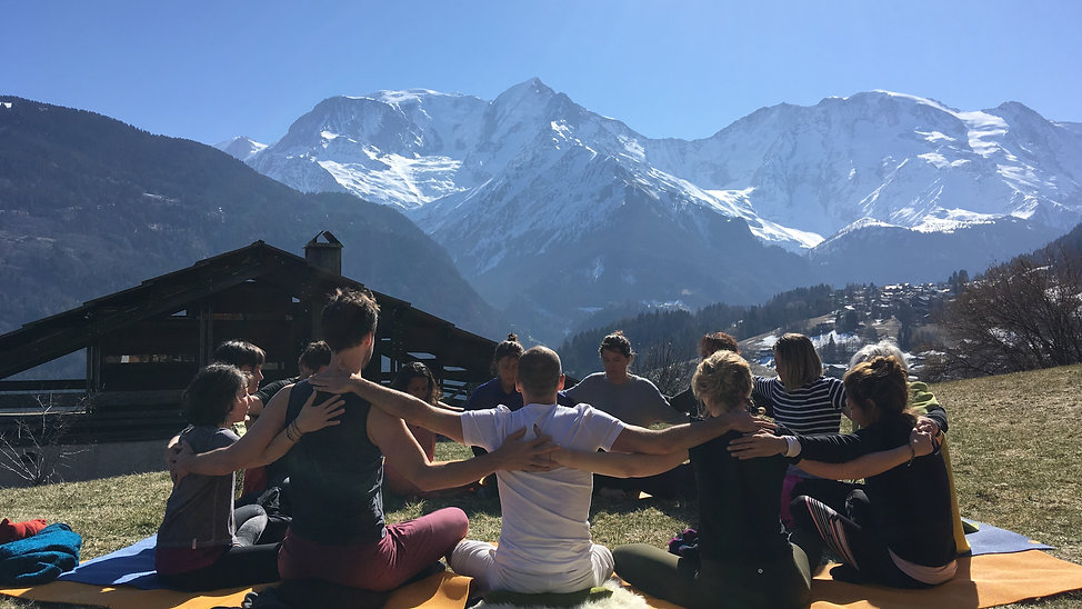 Retraite Yoga Intégral à Saint Gervais avec David Gaillard - Mars 19