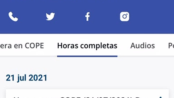 Radio - Herrera en Cope