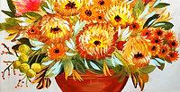 Fall Mum Bouquet