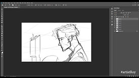 How to draw a dramatic frame