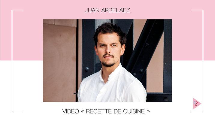 Recette des cookies, par Juan Arbelaez