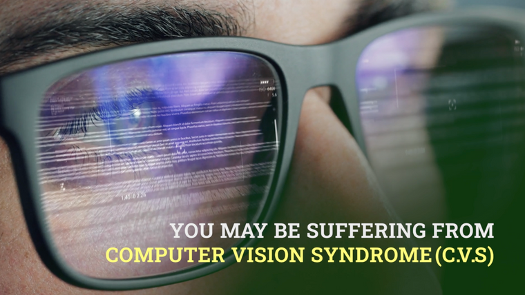 Computer Vision Syndrome - You Deserve to Work in Comfort!