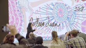Colleen Quen Apple Events 2018