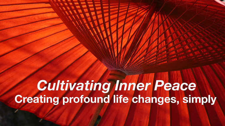 Cultivating Inner Peace