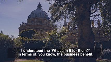 Oxford Women's Leadership Development Programme, Saïd Business School, University of Oxford