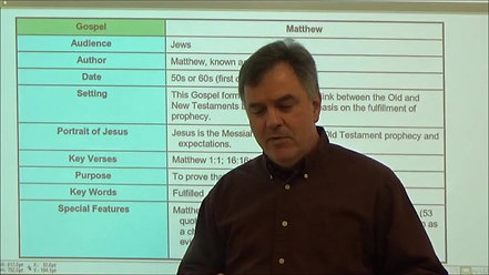 1-The Four Gospels-Matthew