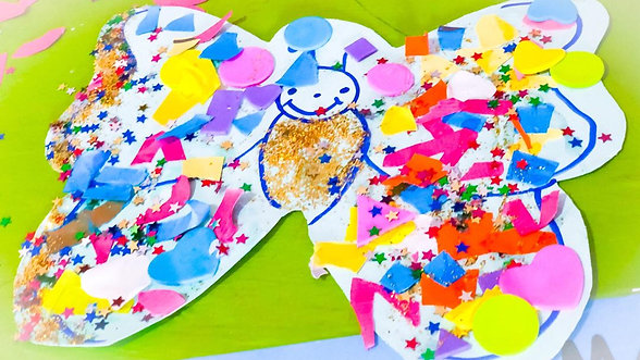 easy fun butterfly craft