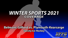 ICE HOCKEY: Belmont-Gilford vs. Plymouth-Kearsarge (1/27/2021)