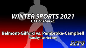 ICE HOCKEY: Belmont-Gilford vs. Pembroke-Campbell (1/20/2021)