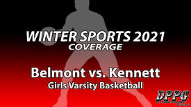 GIRLS BASKETBALL: Belmont vs. Kennett (1/28/2021)