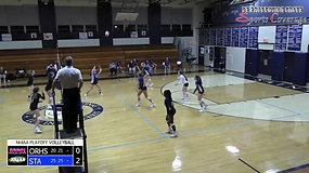 St. Thomas Aquinas vs. Oyster River (Volleyball - 10/28/2020)