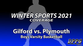 BOYS BASKETBALL: Gilford vs. Plymouth (1/30/2021)